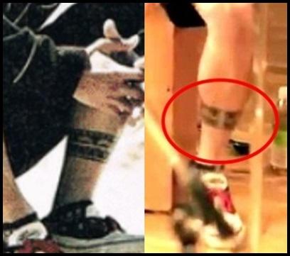 ワンオクのドラムtomoyaのタトゥー画像!背中で語る刺青の意味とは?左足 模様