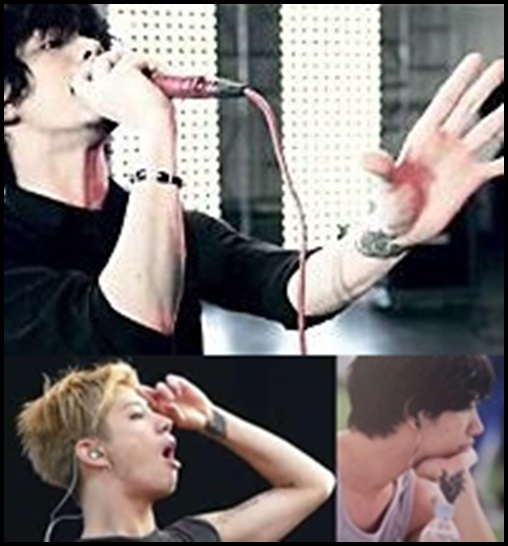 ONE OK ROCK Takaのタトゥー画像まとめ!意味に込められた想いが…左手首 コウモリ