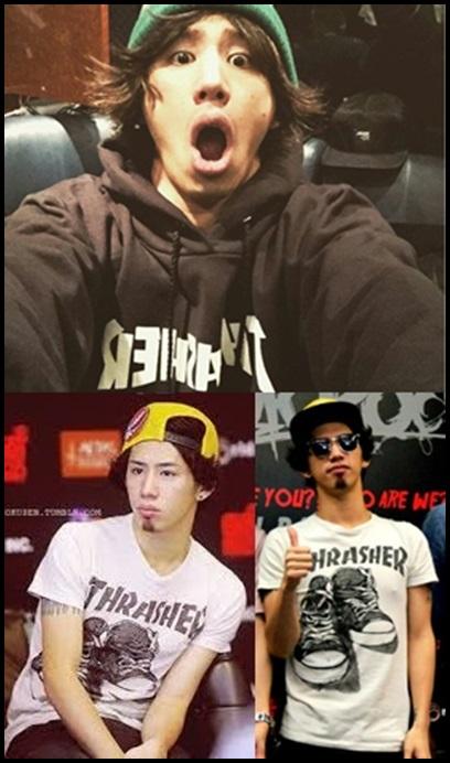 ONE OK ROCK takaの私服ファッション!愛用ブランド6選まとめ!THRASHER(スラッシャー)