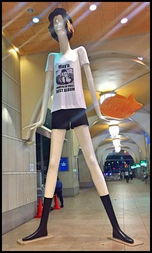 zepp nagoyaの行き方!徒歩での名古屋駅出口や最寄り駅!所要時間も、ナナちゃん人形