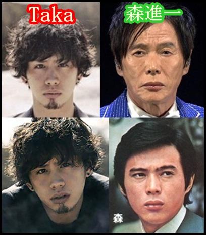 one ok rock takaと家族!やっぱり似てる?イケメンDNAを画像検証,Taka-森進一