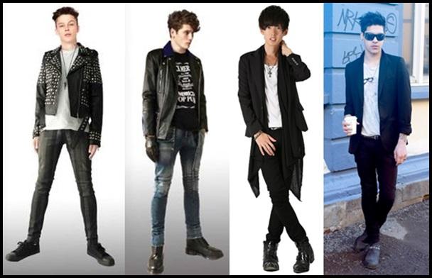 ロックファッションはメンズもきれいめに?人気のコーデを紹介!2