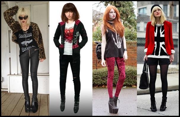 ロック女子がアツい?服装や髪型!人気ファッションブランド