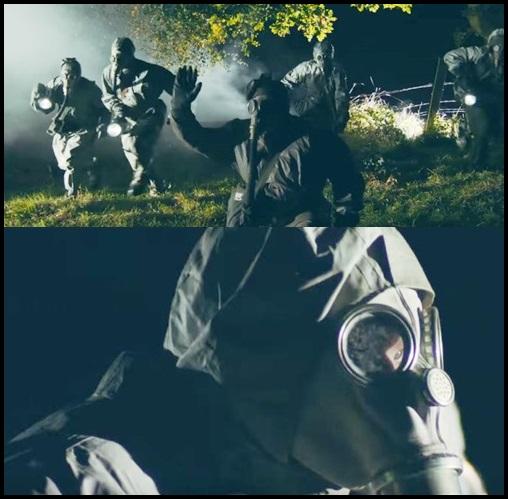 ONE OK ROCK『Taking Off』PV意味が深い!ミュージアムと繋がりが?ガスマスクの男達に見つかる