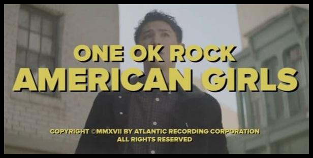 ONE OK ROCK american girlsのMV意味!TakaがストーリーPVに初出演?1 (1)